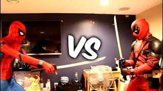 DEADPOOL VS SPIDER-MAN IN REAL LIFE 2