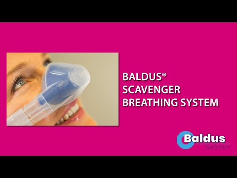 Baldus Scavenger Breathing System For Nitrous Oxide Sedation