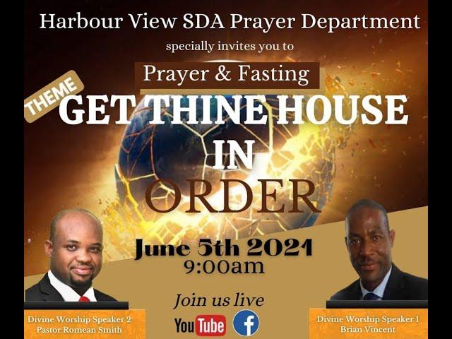 Prayer and Fasting June 5,2021