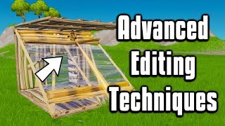 Advanced Editing Techniques You Need To Learn! - Fortnite Battle Royale