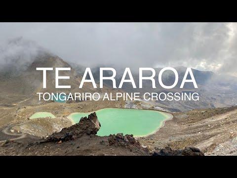 Te Araroa 11: Tongariro Alpine Crossing