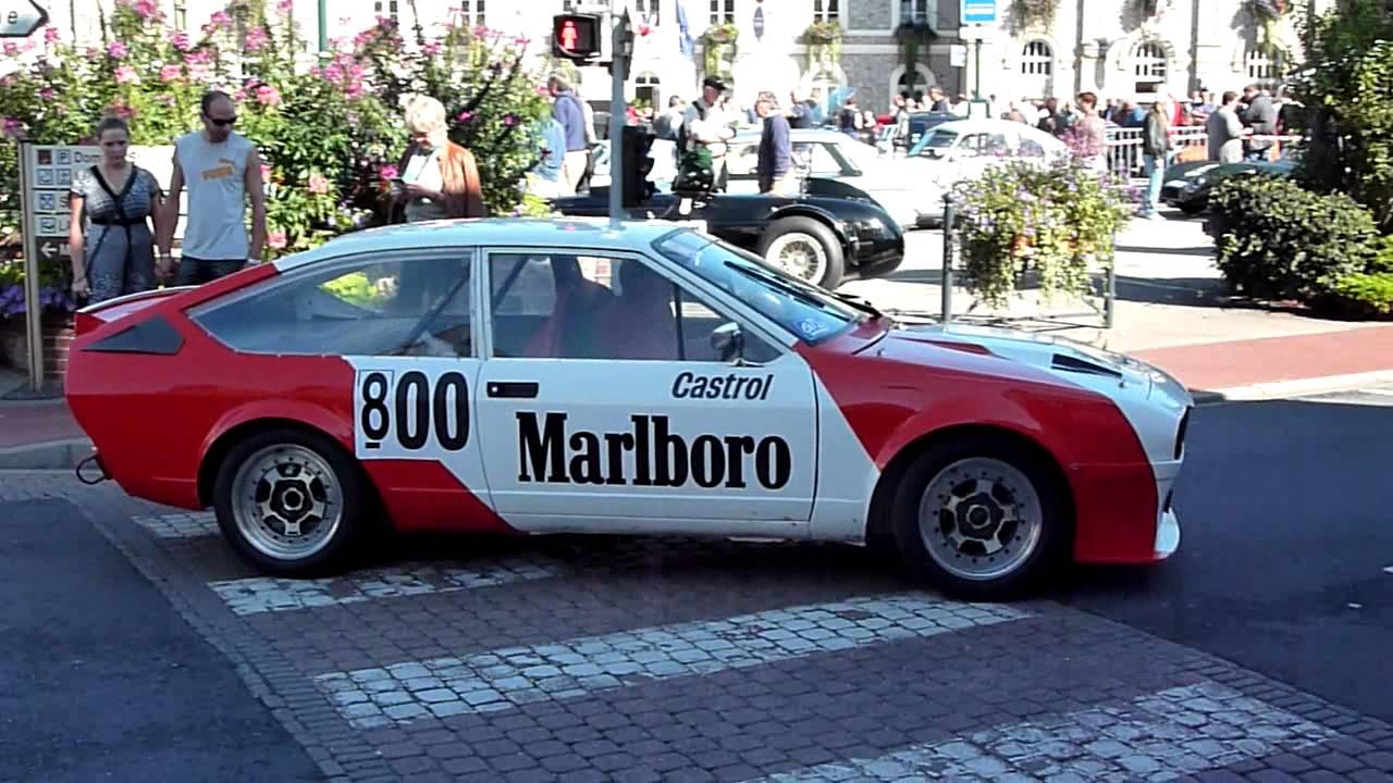 Alfa Romeo Gtv6 >> Alfa GTV6 Production avant le départ de la course de côte d'Etretat (28 Août 2010) - YouTube