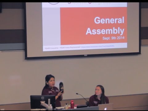 HUSC General Assembly Sept 9th 2014