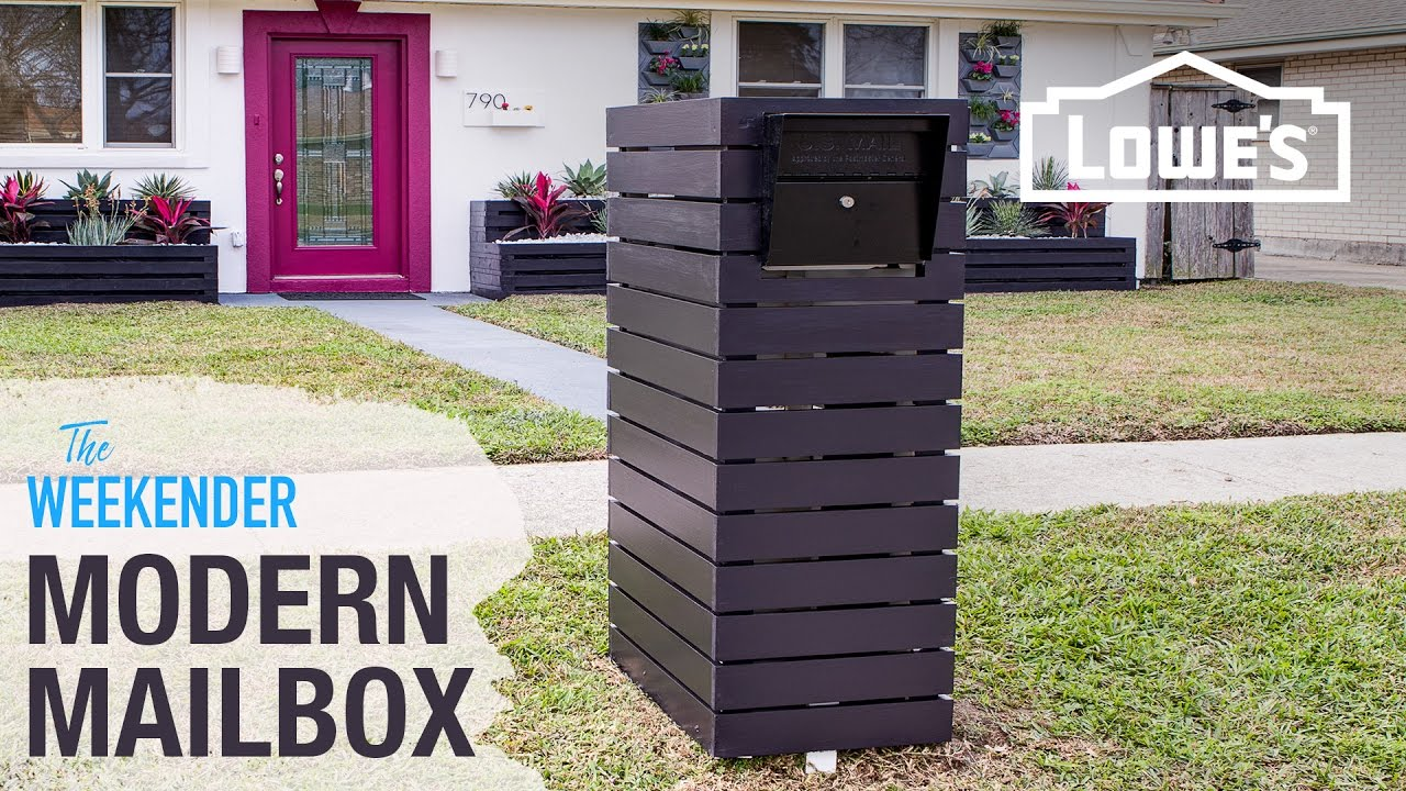 Diy custom mailbox youtube diy custom mailbox solutioingenieria Images