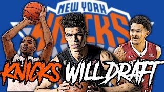 Who Will Be The FUTURE SUPERSTAR For The Knicks In The NBA Draft!?
