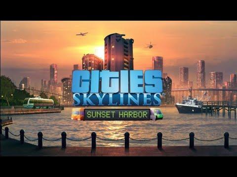 Cities Skylines Sunset Harbour(Little Hamlet) |