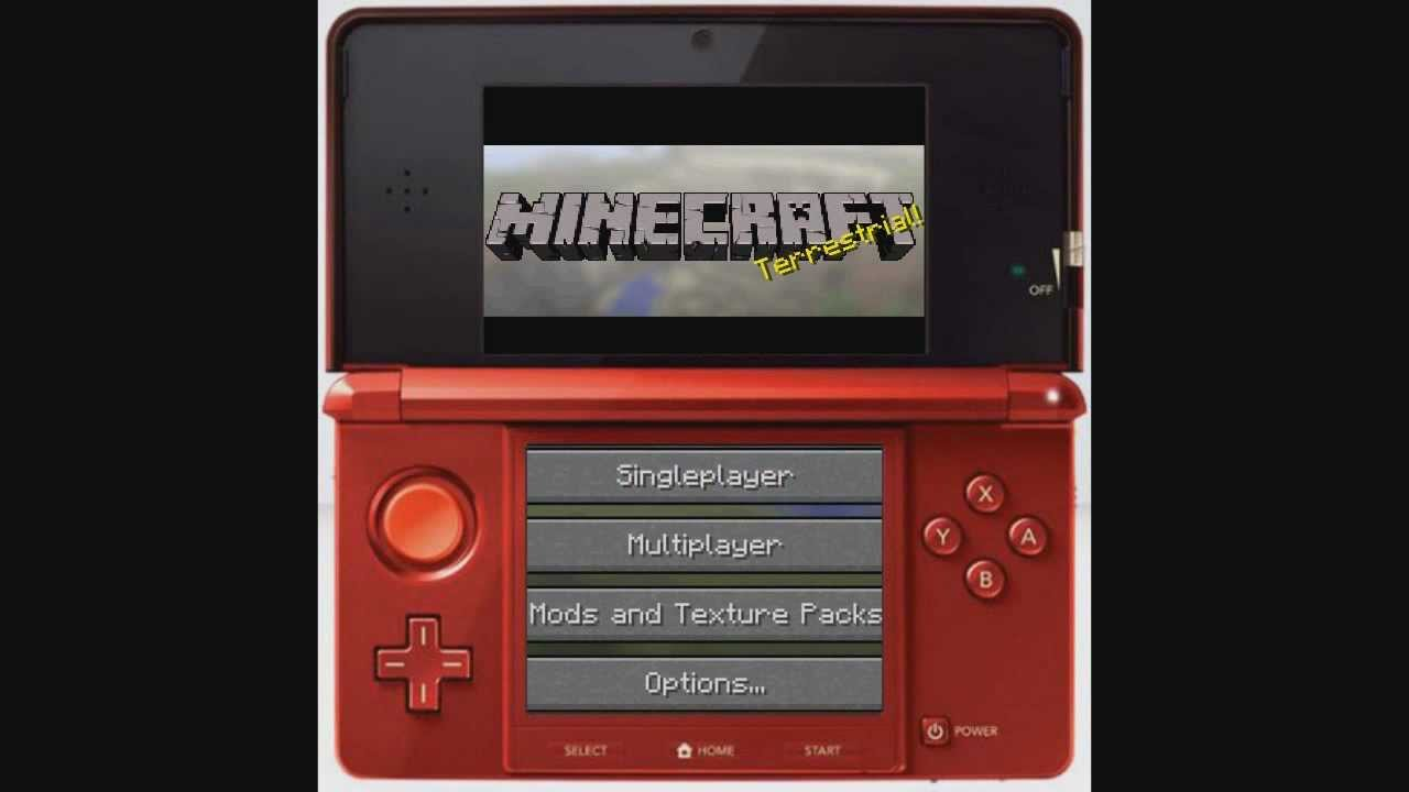 Minecraft 3ds Concept Youtube