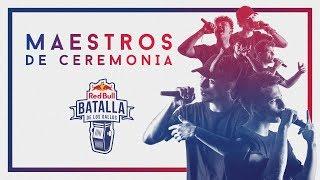 MAESTROS DE CEREMONIA | Prod. CENZI STILOS | Red Bull Internacional 2018