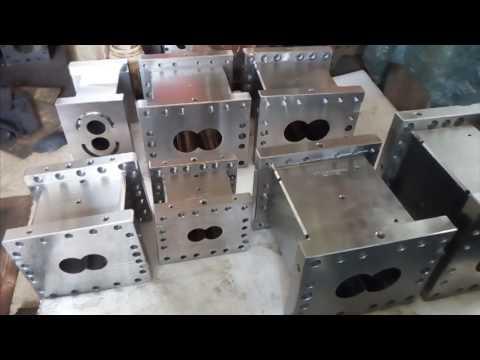 screw and barrel for plastic extruder machine/screw barrel extrusion