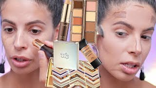 1ST IMPRESSIONS MAKEUP TUTORIAL | TARTE CLAY STICK FOUNDATION