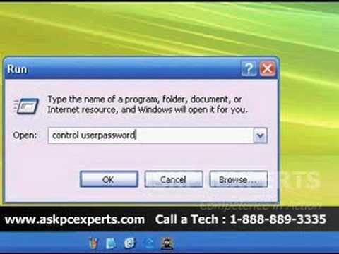 Bypass A Windows XP Login Password