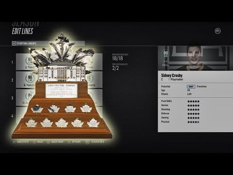 Can A Team of ALL Conn Smythe Winners Win The CUP? NHL 18