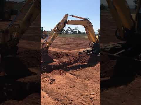Excavator Training At PTS