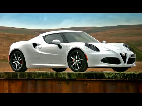 Vicki Reviews The Alfa Romeo 4C - Fifth Gear