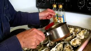 Stuffed Oysters Dabob