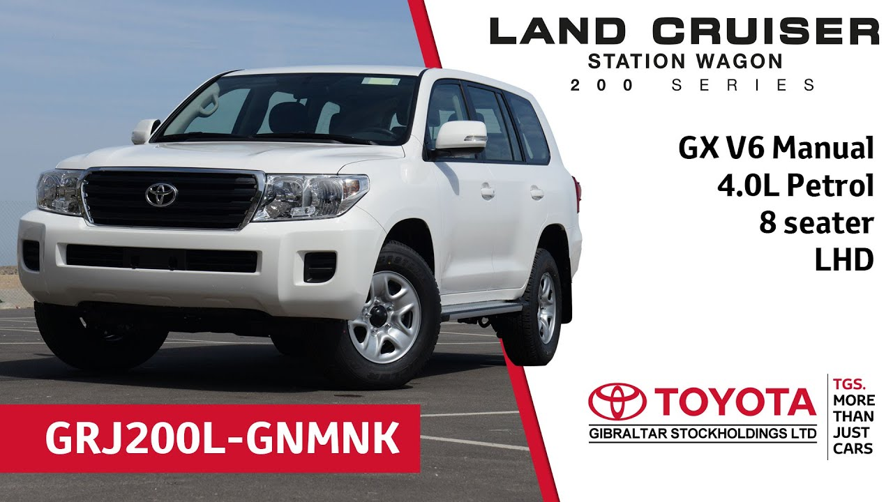 Toyota Land Cruiser 200 Series GX