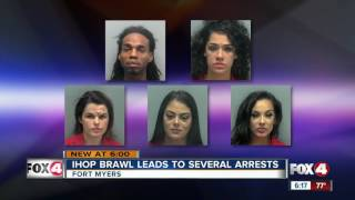 White Latina Women and Simple Negro Arrested For Brawl At IHOP