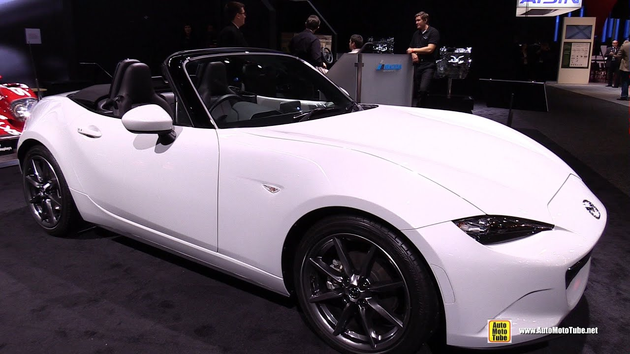 2016 Mazda Mx 5 Miata Exterior And Interior Walkaround 2017 Detroit Auto Show You
