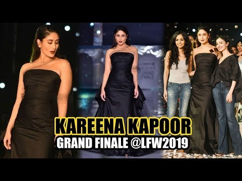 Kareena Kapoor Dazzles The Runway At The LFW 2019 Finale In An Elegant Black Gauri & Nainika Couture Mp3