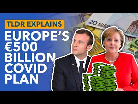 The EU's €500 Billion COVID Stimulus: France & Germany's Plan To Save The EU - TLDR News