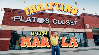 Video Thrifting With Marla (Plato's Closet & Savers) download MP3, 3GP, MP4, WEBM, AVI, FLV Juli 2018