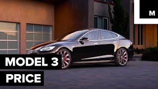Tesla's Model 3 price thumbnail