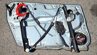 Ремонт стеклоподъёмника Volkswagen Passat B5/Фольксваген Пассат Б5
