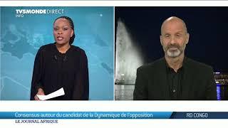 RDC : Martin Fayulu désigné candidat de l'opposition pour la présidentielle du 23 décembre