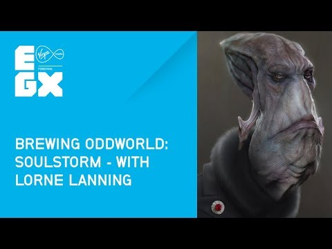Brewing Oddworld: Soulstorm with Lorne Lanning from EGX 2017
