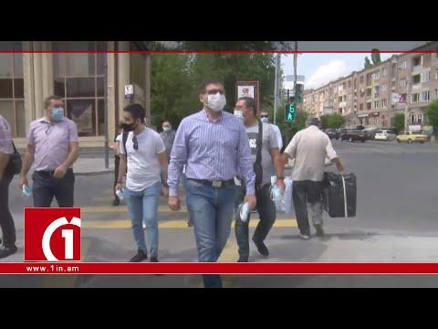 «Հանուն հանրապետության» նախաձեռնության անդամները Գյումրիում են՝ դիմակներ բաժանելու