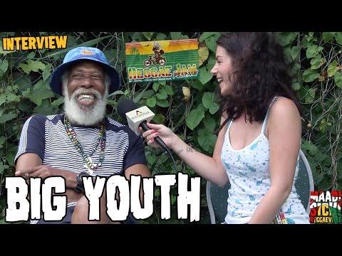 Big Youth -  Interview @Reggae Jam 2016