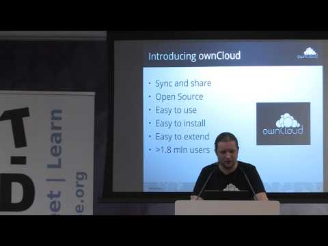 T-Dose 2014, The why, what and how of owning your own data, Jos Poortvliet