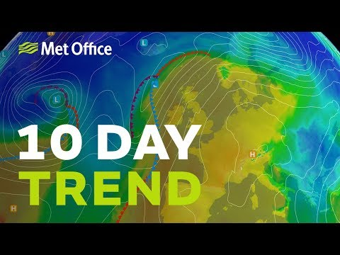 10 Day trend – High pressure keeping things dry but for how long 13/02/19