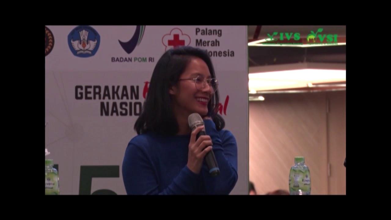 Tara Basro Vegan Tak Tergoyahkan-IVS & VSI Vegan Festival Indonesia 2018