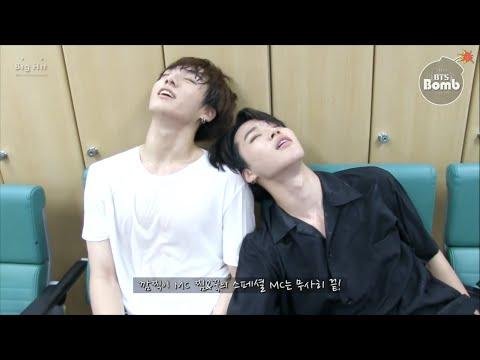 [ENG SUB][BANGTAN BOMB] Jimin & Jung Kook did 'Show Music Core' Special MC!!