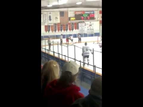 Hockey Fight clip Metro vs Flint
