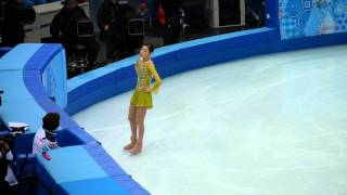 [Fan cam] Yuna Kim SP Warm-up in Sochi 2014 Winter Olympics