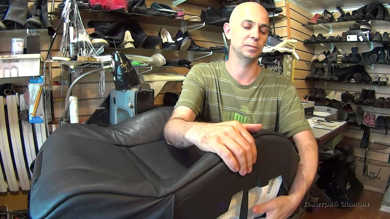 Ремонт обуви своими руками видео