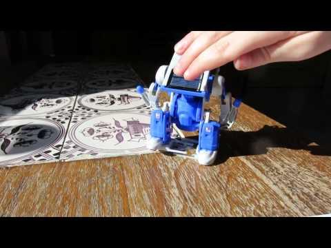 Solar cell robot