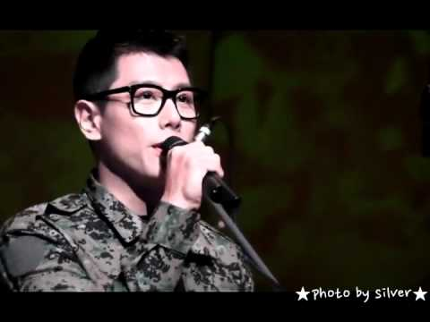 Park Hyo Shin 박효신 111019 Ministry of National Defence Military Band Concert - My Way