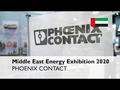 Phoenix Contact showcased new innovations at the Middle East Energy Exhibition 2020