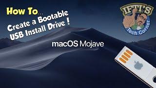 Apple Mac OSX 10.14 Mojave - How to Create a Bootable USB Flash Drive - GUIDE!