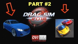 Drag Sim 2018 Part #2 - App Check - iPhone / iPad iOS / Android Game - Alexandru Marusac