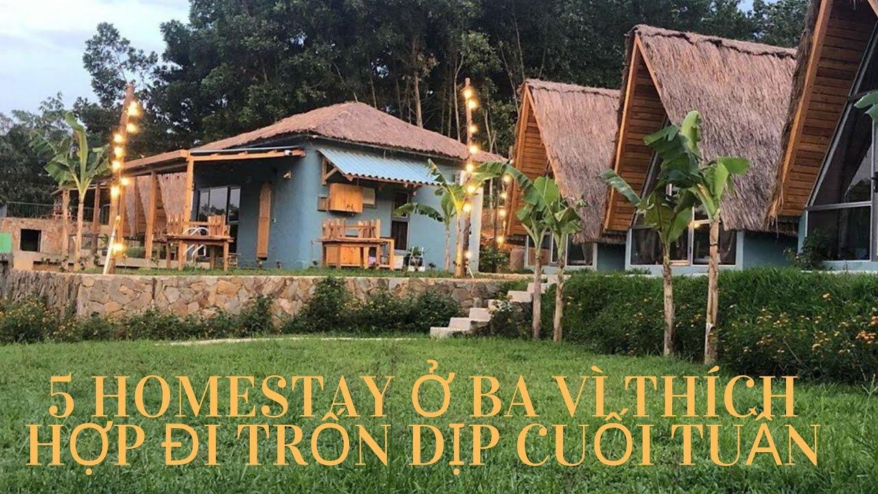 [Homestay Việt Nam] – 5 homestay ở Ba Vì thích hợp đi trốn dịp cuối tuần