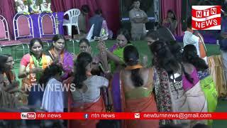 తెలంగాణ విమోచన దినోత్సవ సభలో బతుకమ్మ సందడి....| bharathiya janatha party | NTN NEWS |