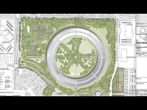 "Apple's ""Spaceship"" Headquarters (HD)"