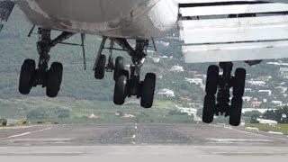 Must Watch!! KLM / Boeing 747-400 Landing at Princess Juliana, St Maarten (Full HD1080p)