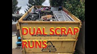 Dual Scrap Runs Light iron \u0026 Non Ferrous