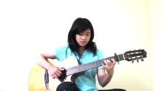 Chờ Ngày Mưa Tan Fingerstyle virginia nguyen YouTube