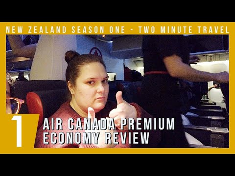 Air Canada Premium Economy Review - Two Minute Travel
